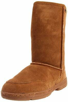 BEARPAW Women's Meadow Mid Calf Boot, Hickory, Size 6.0