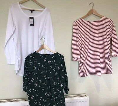 Bundle Of New Look Maternity Tops Size 14