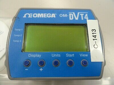 Omega OM-DVT4 4 Channel Temperature Data Logger, 421-472-0031