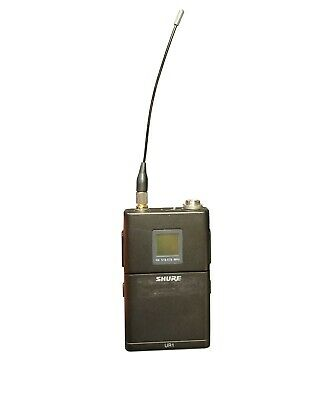 Shure UR1 H4 Band Bodypack Transmitter w/ 518-578MHz ONLY
