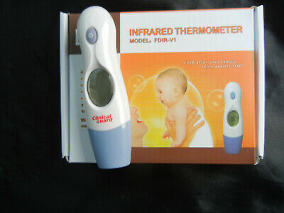 Digital Forehead Ear Thermometer Fever Alarm INFRARED Baby Kids Adult Body Temp