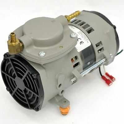 Thomas 107CAB18B Diaphragm Vacuum Pump/Compressor 115V 1/20HP Runs Quietly