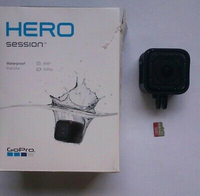 GoPro HERO Session Waterproof Digital Action Camera with 64gb card