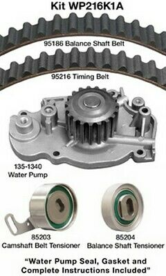 WP216K1A Dayco Engine Timing Belt Kit with Water Pump P/N:WP216K1A