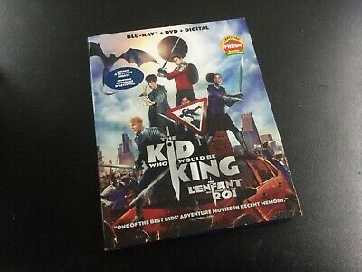 The Kid Who Would Be King    ( Blu-Ray + Dvd + Digital  ) Brand New Sealed