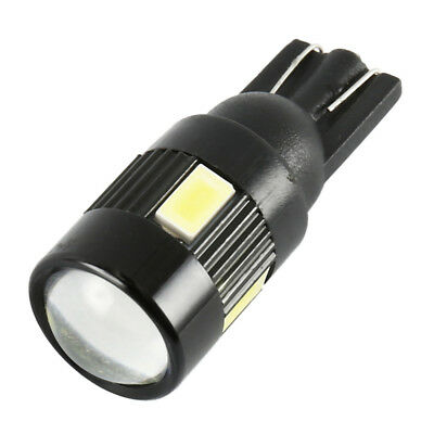 10pcs T10 LED BULBS CAR CANBUS 6 SMD W5W 501 SIDE LIGHTS WEDGE LIGHT ERROR FREE