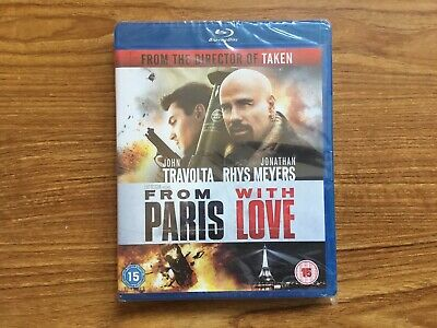 From Paris With Love (Blu-ray) NEW Fast Post