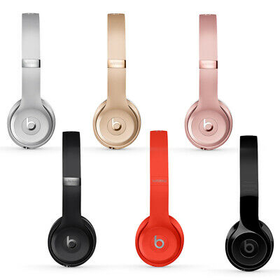 New Beats Solo3 Wireless On-Ear-HeadPhones Special Black - Silver - Gold - Gloss