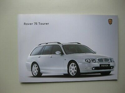Rover 75 Tourer prestige brochure Prospekt Dutch text 44 pages 2001