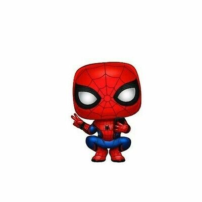 Far From Home - Spider-Man (Hero Suit) - Funko Pop! Spider-Man (2019, Toy NUEVO)