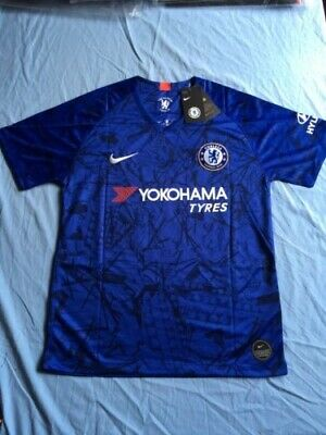 Chelsea Hazard 10 Home Kit 2019-2020 Season Small Adult Size -- 5 Only - New