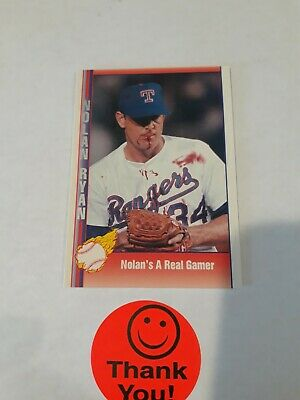 detailed look c9f38 08f1c 1991 PACIFIC RYAN Texas Express I #92 Nolan's a Real Gamer ...