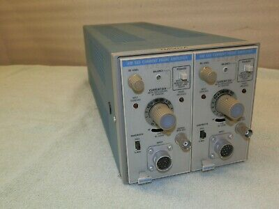TWO Tektronix AM 503 Current Probe Amplifiers With TM502A - Please Read