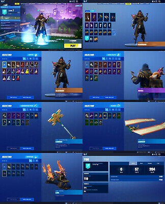 Fortnite Skin 18 | V-Bucks 100 | Tier 1 | Account Lvl 119 |Season Lvl 1|