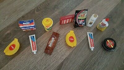 13pc- New Coles Little shop Mini Collectables  -Toy Craft new Family 1