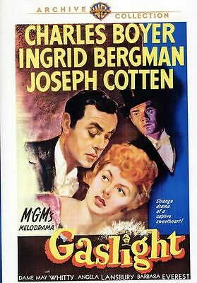 🔥 NEW! Gaslight DVD Ingrid Bergman Joseph Cotten 1944 (Warner Archive) RARE 🔥