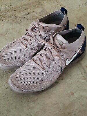 Nike Men's Air Vapormax Flyknit 2 Diffused Taupe Phantom Size 10 942842 201