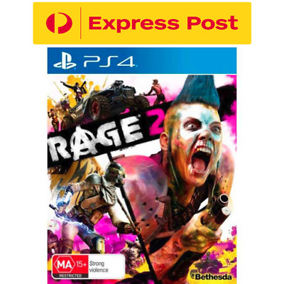 Rage 2 PS4 PlayStation 4 Brand New Sealed FREE EXPRESS