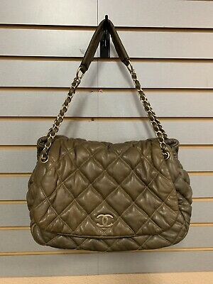 9575bc087d21bf ... Shoulder Bag A93602 leather Black Used Vintage. $2,292.00 Buy It Now  11d 19h. See Details. CHANEL Brown Quilted Lambskin Bubble Flap Accordion  Bag