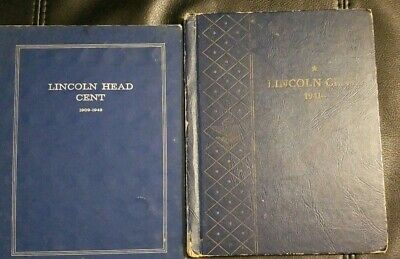 1909-1969Lincoln Penny Collection Set in 2 Folders Estate Sale
