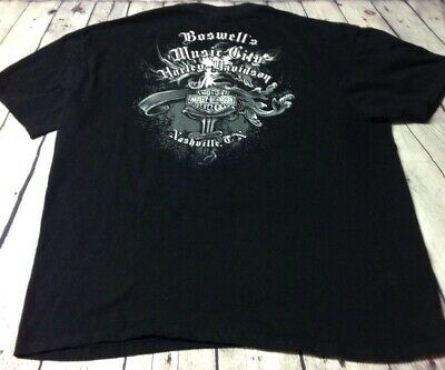 Harley-Davidson Boswell's Music City TN XL Tshirt Pre-owned