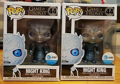 Funko Pop! Game Of Thrones Metallic Night King AT&T Exclusive In Hand