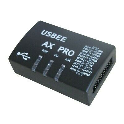 USBEE AX PRO Logic Analyzer Virtual Oscilloscope with Adapter board and Test Pen