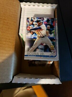 2019 Topps Series 1 Complete Base Set 350 cards Acuna Soto Trout Tucker Ohtani +