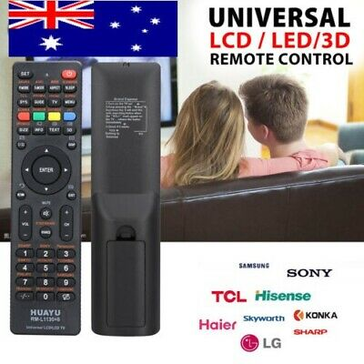 LCD/LED/3D Universal TV Remote for Samsung/Hisense/TCL/PHILIPS/SHARP/HITACHI/LG!