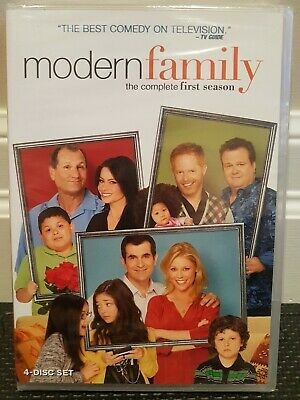 MODERN FAMILY The Complete First Season 1 One (4 Disc DVD  Set) TV Show SEALED