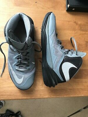 save off 98451 76c27 NIKE PRIME HYPE DF II BASKETBALL SHOES GRAY 806941- 003 Men s Sz 8.5