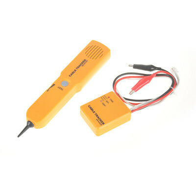RJ11 Wire Tone Generator Probe Tracer Network Tracker Line Finder Cable Tester,