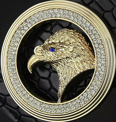 Eagle Diamonds Mens Womens Pin Buckle Only For 38 Mm Belts Unisex Belt Buckles