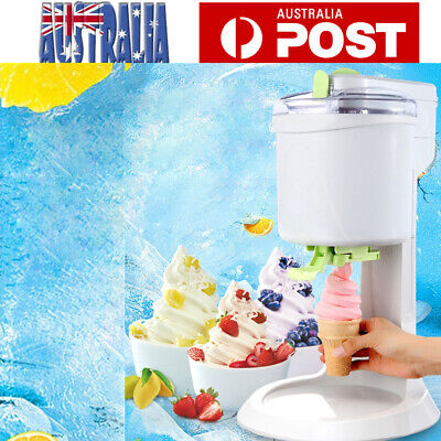 1L Ice Cream Machine DIY Ice Cream Maker Fruit Paste Slush Machine AU