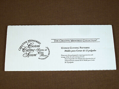 Creative Memories 12-Inch Cutting Patterns Straight Swell Wavy Edges 6095420800