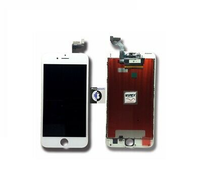 DISPLAY IPHONE 6 SCHERMO RETINA PER APPLE TOUCH SCREEN LCD FRAME-white
