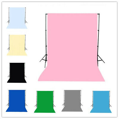 5X10FT 6X9FT Solid Plain Colors Polyester Backdrops Background Photo Studio Prop
