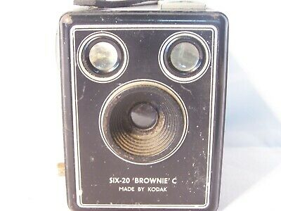 Vintage Kodak Camera Brownie Six 20 Model C Box Camera Film