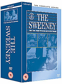 THE SWEENEY Complete Series 1-4 SEALED/NEW  Boxset seasons 1 2 3 4 SEALED