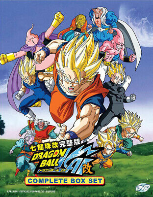 Anime DVD: Dragon Ball Kai ENGLISH DUBBED Complete (Vol.1-167 End) + Bonus DVD