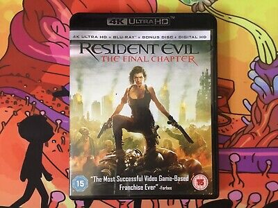 Resident Evil - The Final Chapter (Ultra HD 4K + Blu-ray)