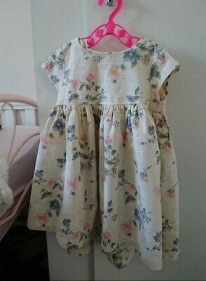 Girls Summer Next dress 12-18 months (Twins)