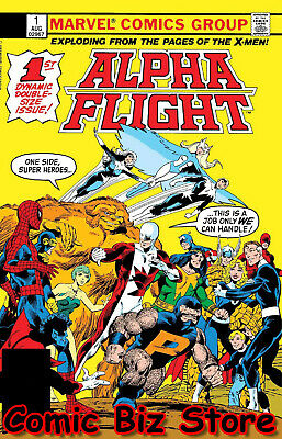 Alpha Flight #1 (2019) 1St Printing Facsimile Edition Marvel Comics ($4.99)