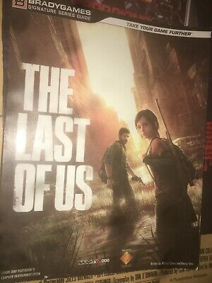 THE LAST OF US Strategy Guide (Bradygames) PS3