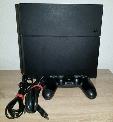 Sony PlayStation 4 Konsole / PS4  500 GB Jet Black  CUH -1216A