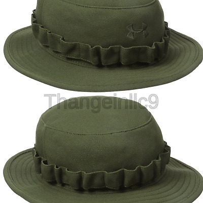 f8f4f6a01 UNDER ARMOUR 1219730 TACTICAL Bucket Boonie Cap HAT UA Military OD ...