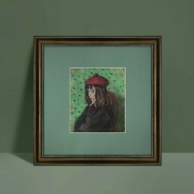 Impressionism-Camille Pissarro art repro print giclee classic style frame