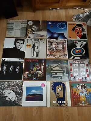 Job Lot 45 Vinyl LP's Records 1970's To Early 1990's EXC From Peter Gabriel