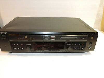 Sony MXD-D3 Compact Disc Minidisc Deck CD Player and MD Recorder