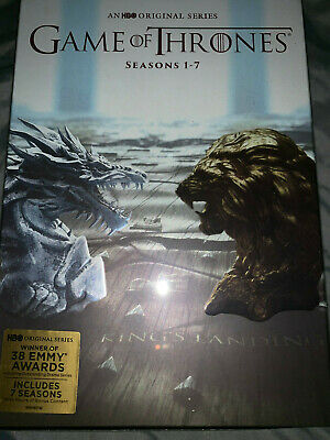 Game of Thrones ALL Seasons 1-7 Complete DVD Set Collection Series on 34 DVDs